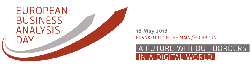 1. European Business Analysis Day in Frankfurt im Mai 2018