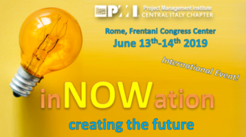 inNOWation Conference @ PMI Central Italy on June 13+14, 2019