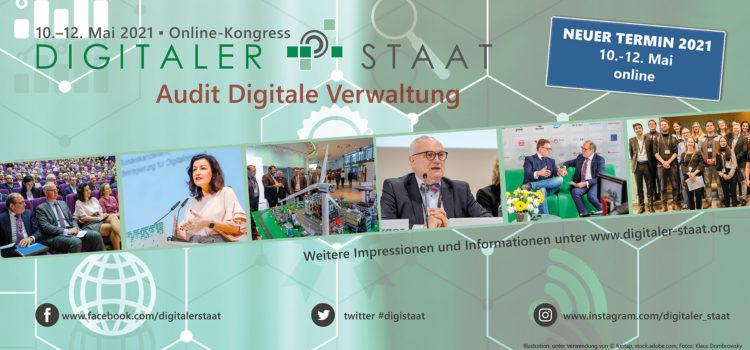 10.5.-12.5. – Digitaler Staat 2021 – PMG-G Kongresspartner und Moderator